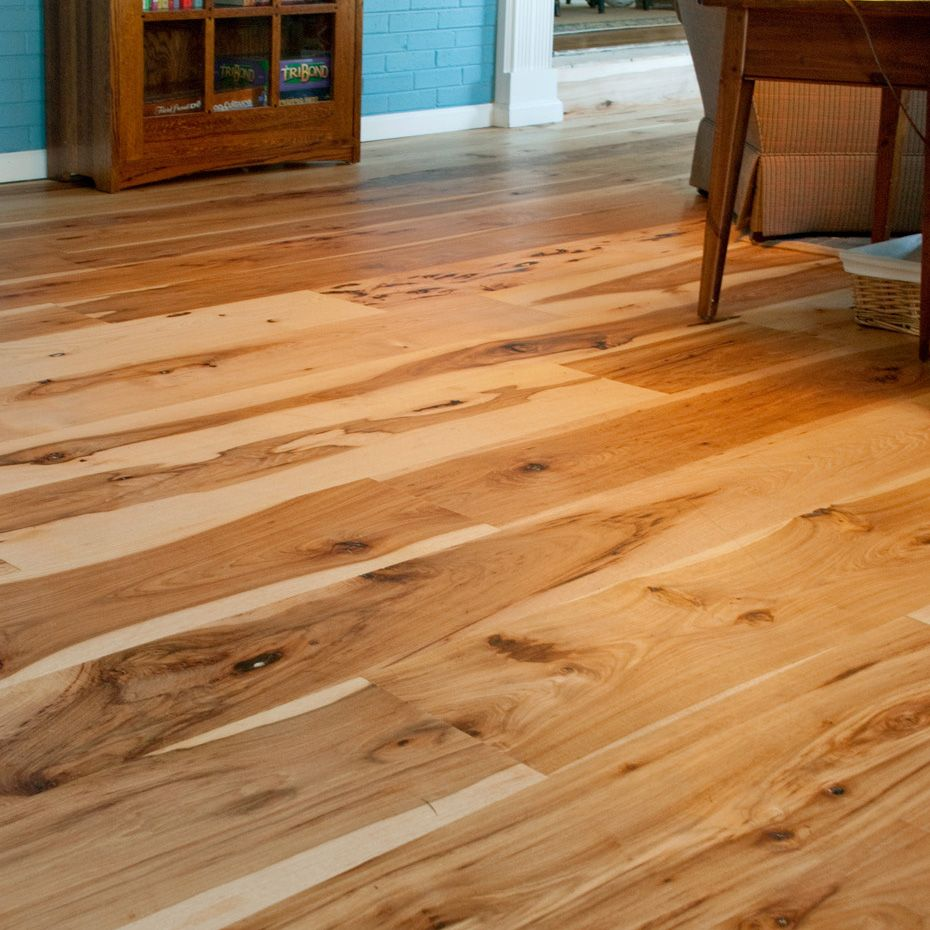 Types Of Kitchen Flooring Ideas: Harvest Hickory Flooring