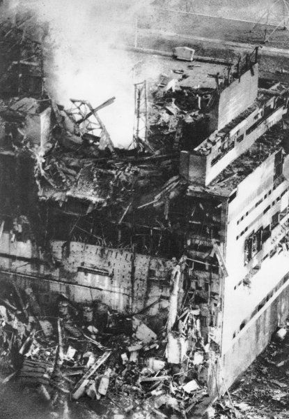 The Explosion On April 26 1986 Caused A Massive Leak Of Uranium