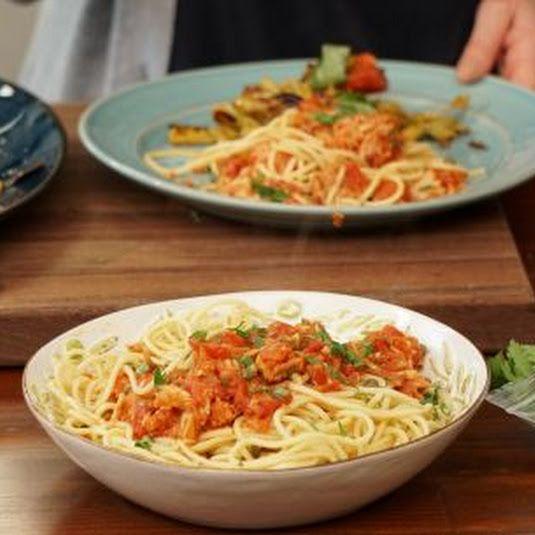 Pasta al Tonno (Valerie Bertinelli) Recipe