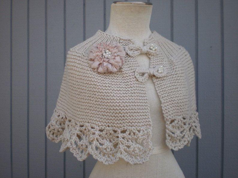 Bridal capelet, bridal shawl, bridal shurg, wedding accessories ...