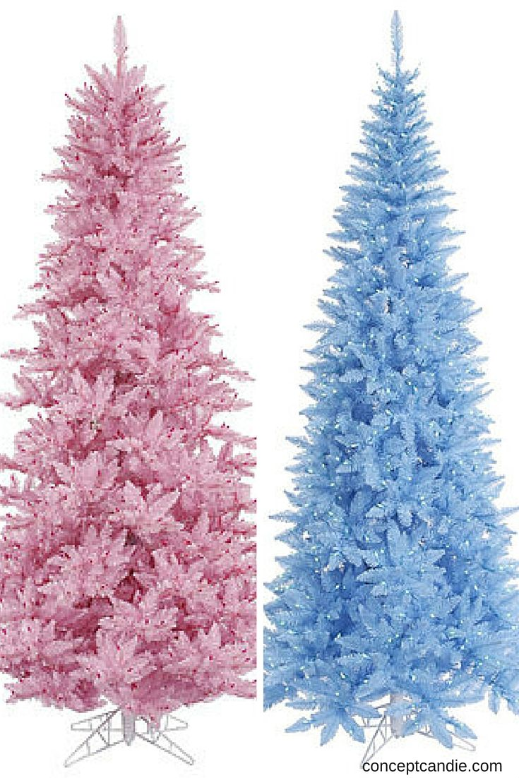 Lavender christmas ornaments - Designer Approved Christmas Decor Pink Tree Or A Blue Tree For You Shopping