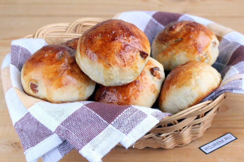 хлебные булочки рецепт фото них помещаются