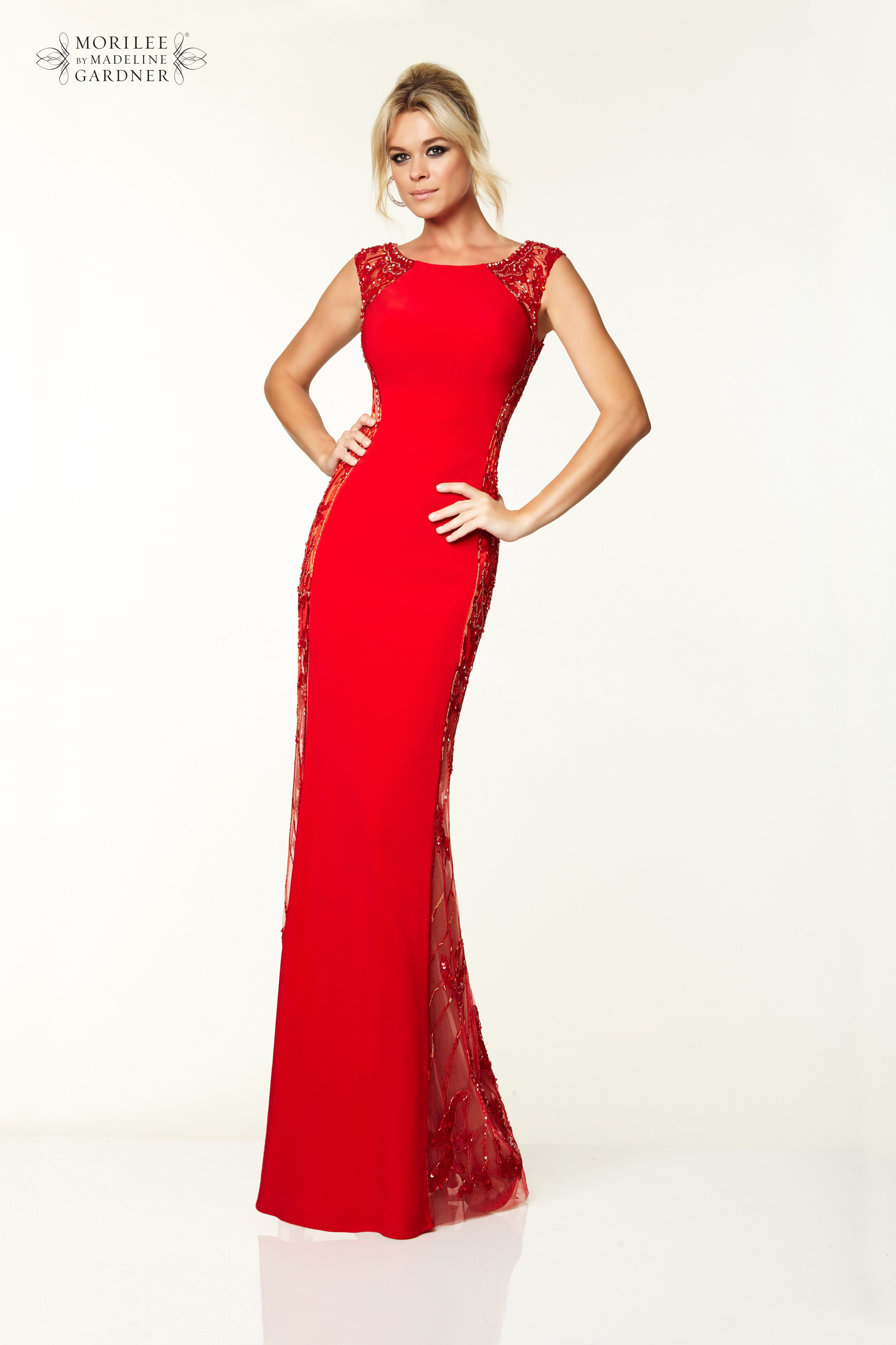 Mori Lee Paparazzi Prom Dress - Style 97029 - Available in Red ...