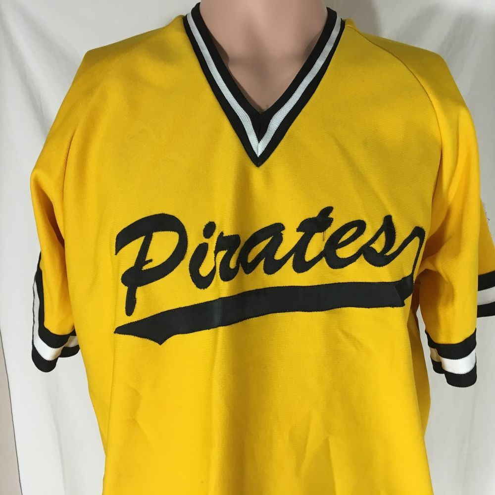 check out b5f8f 1a02f Vintage Betlin Pittsburgh Pirates Baseball Jersey L Little ...