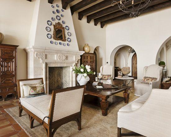 Spanish Revival Living Room