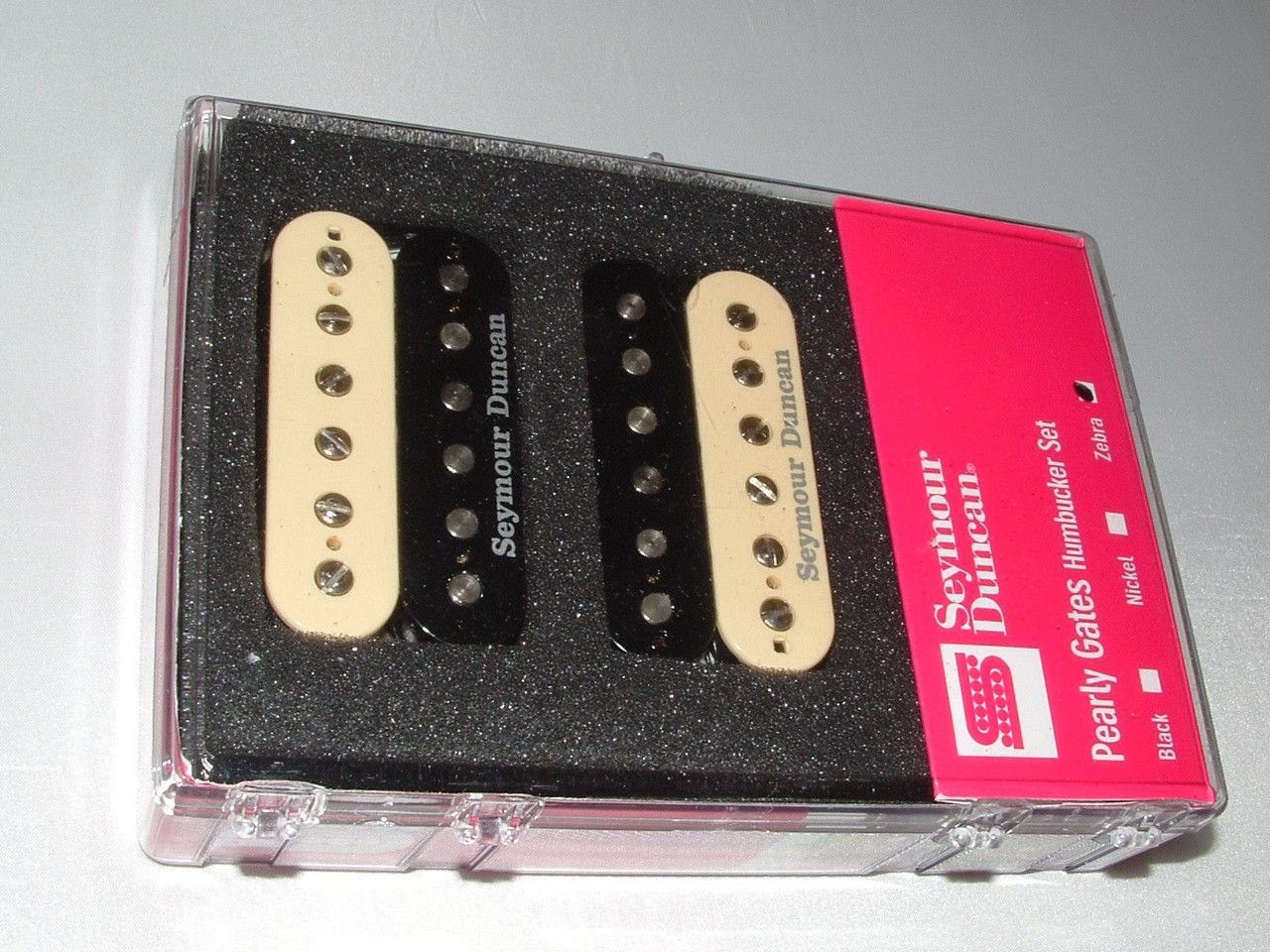 Seymour Duncan SH-PG1 Pearly Gates Matched Pickup Set ZEBRA