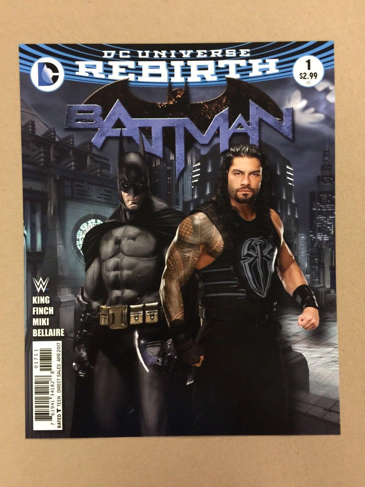 Roman Reigns Wwe 8x10 Photo Dc Comic Book Cover Batman Wrestlemania The Shield Http Bestsellerlist Co Uk Roman Reign Roman Reigns Dc Comic Books 8x10 Photo