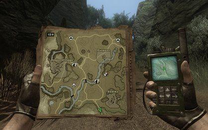 Far Cry 2 Map Gps