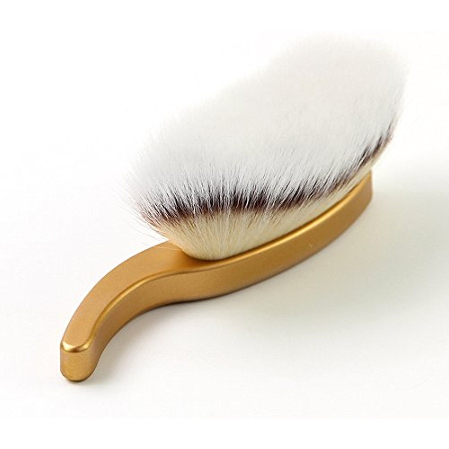 Energy brand wood handle soft synthetic hair face washing
