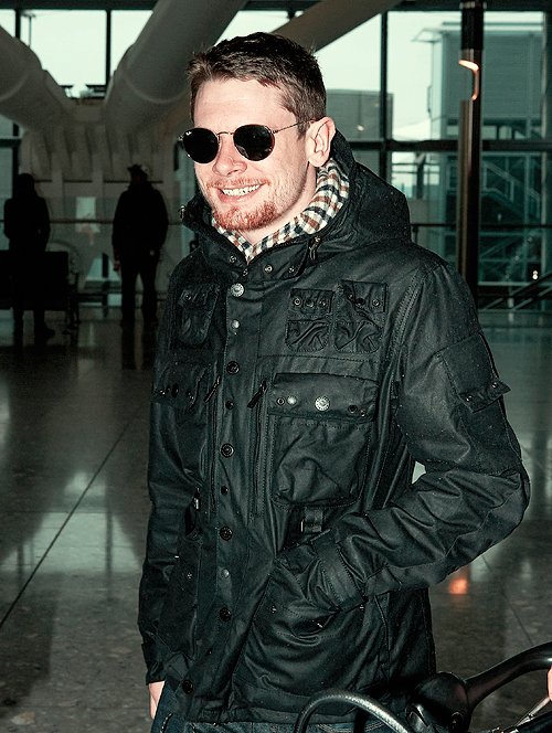 Jack O' Connell - Heathrow Airport in London - Feb 16th 2015 (by jocdaily)