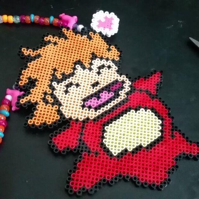 Ponyo perler beads by  sweetpandavibe
