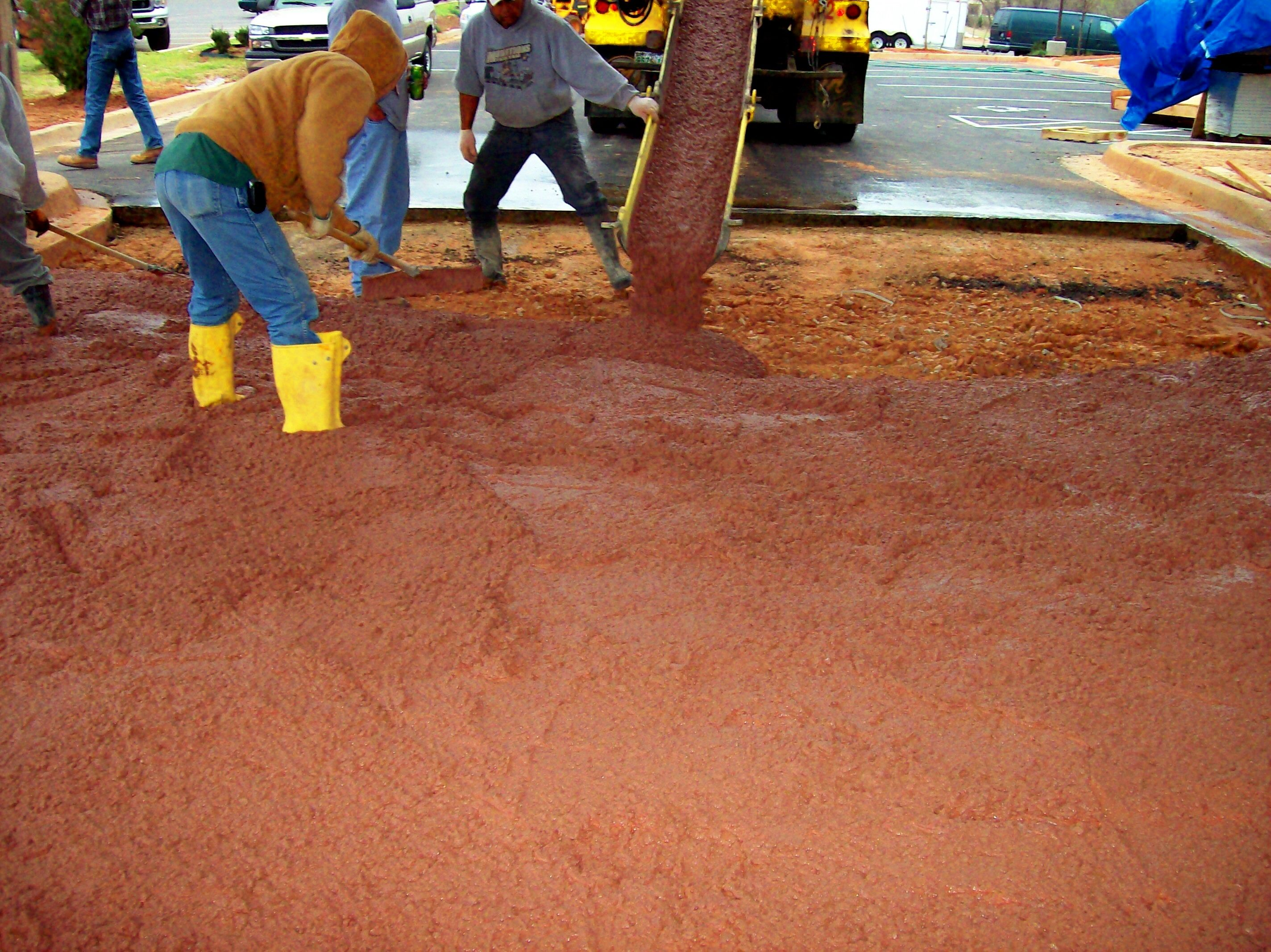 Many Of Our Customers Are Building Houses Or Pouring Colored Concrete Slabs And Have Questions About How To Mix Integral Color Into The Correctly