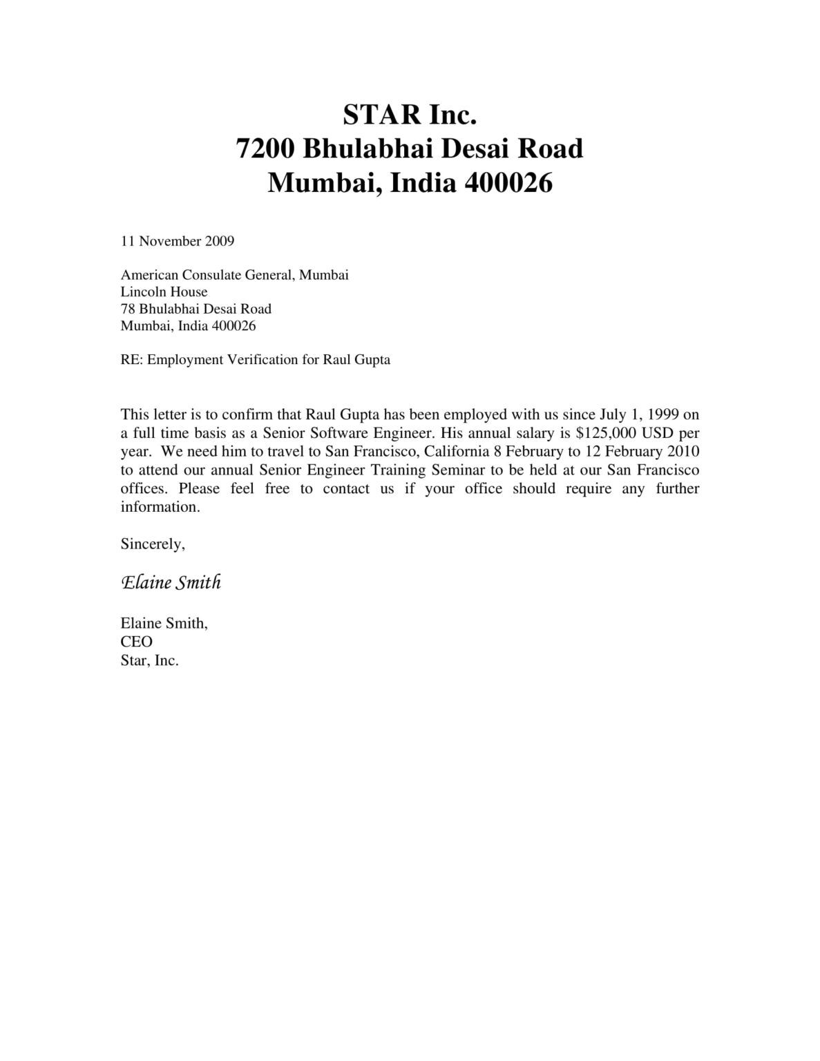 29+ Verification Letter Examples Pdf Examples