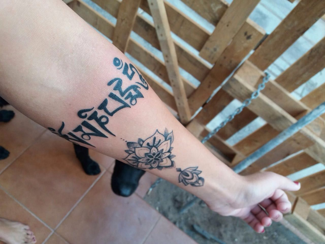 Bracelete Jonhy Tattoo desenho exclusivo