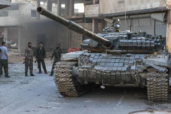 Syria: Regime forces kill 58 Islamic State fighters in Deir Ezzor province - http://nasiknews.in/syria-regime-forces-kill-58-islamic-state-fighters-in-deir-ezzor-province/