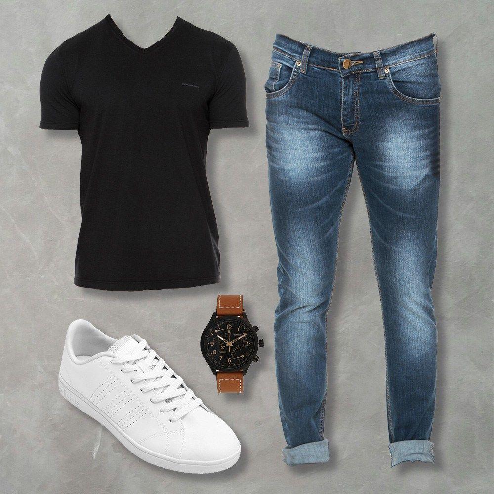 Para aumentar Corta vida Vendedor  4 combos para comprar esta semana | Vestuário masculino, Roupas ...