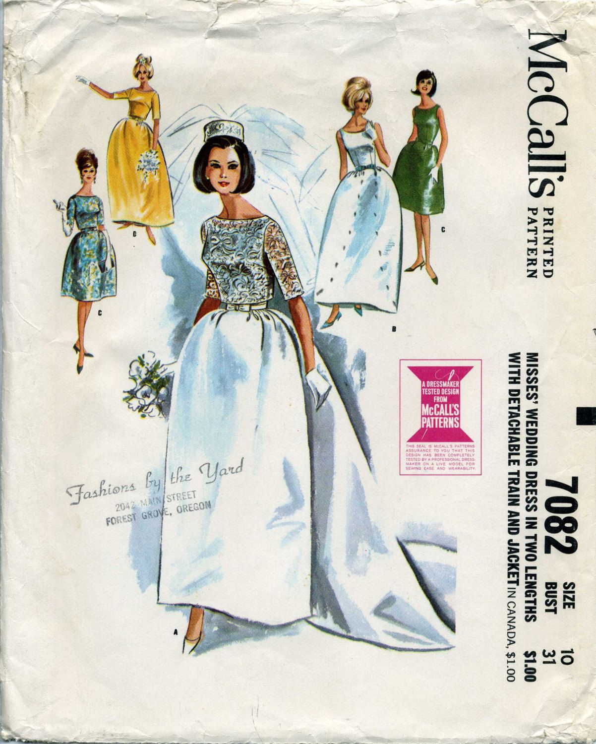 1960s wedding gowns 1960s, Wedding Dress with Detachable