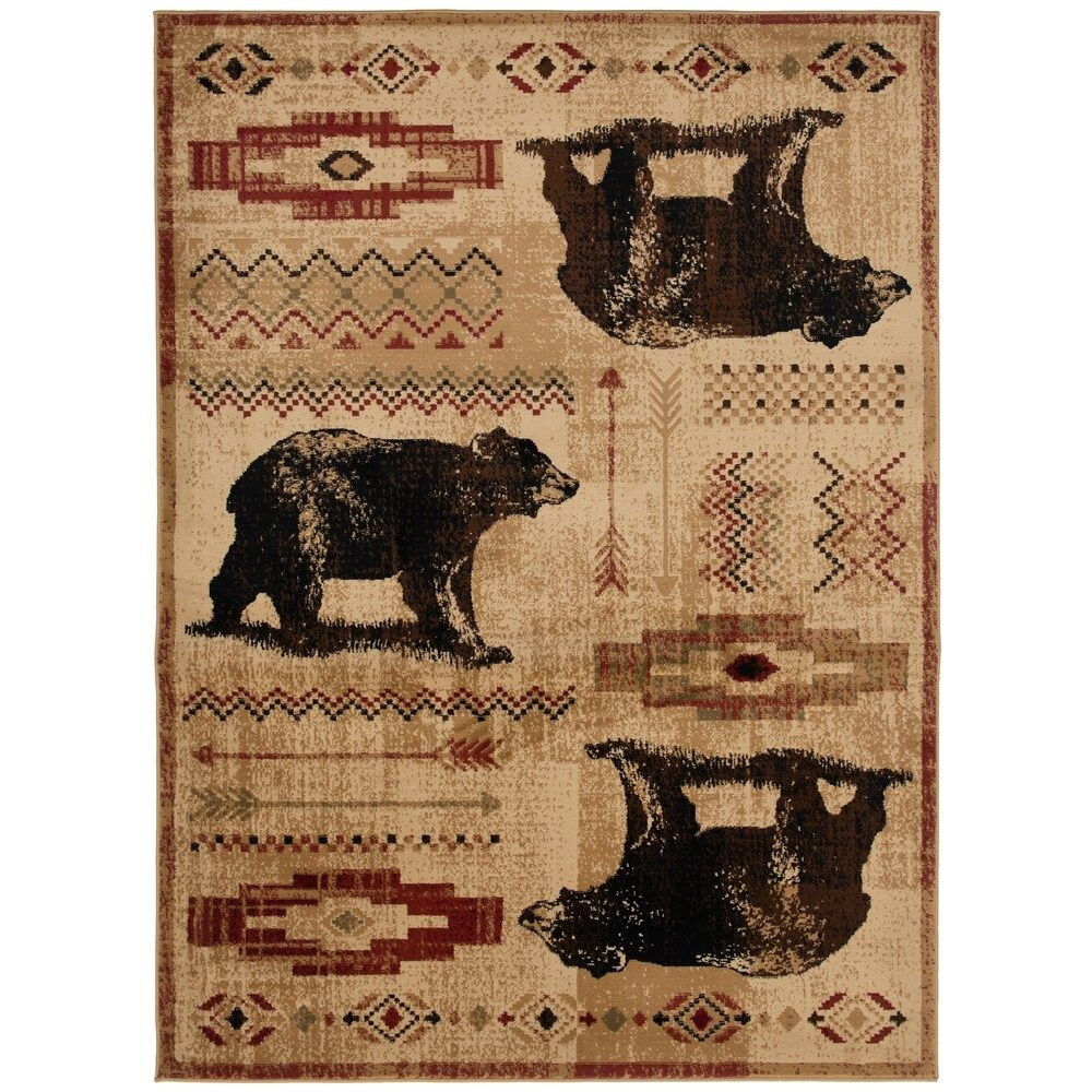 Overstock Com Online Shopping Bedding Furniture Electronics Jewelry Clothing More In 2020 Bear Area Rug Black Area Rugs Area Rugs