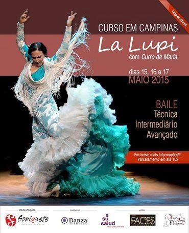 El Cajón Flamenco: Curso de flamenco com La Lupi em Campinas