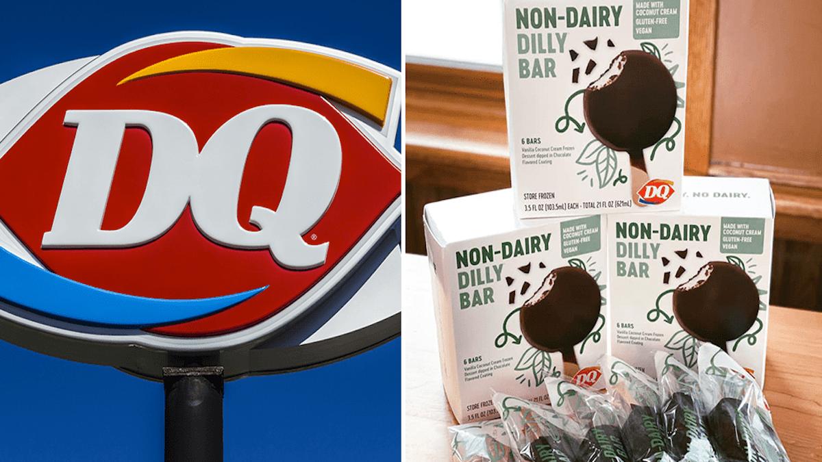Dairy Queen Launches First Vegan Ice Cream Nationwide Vegan News Https Vegannewsnow Com 2020 06 10 Dq Dill Vegan Ice Cream Dairy Free Chocolate Dairy Queen