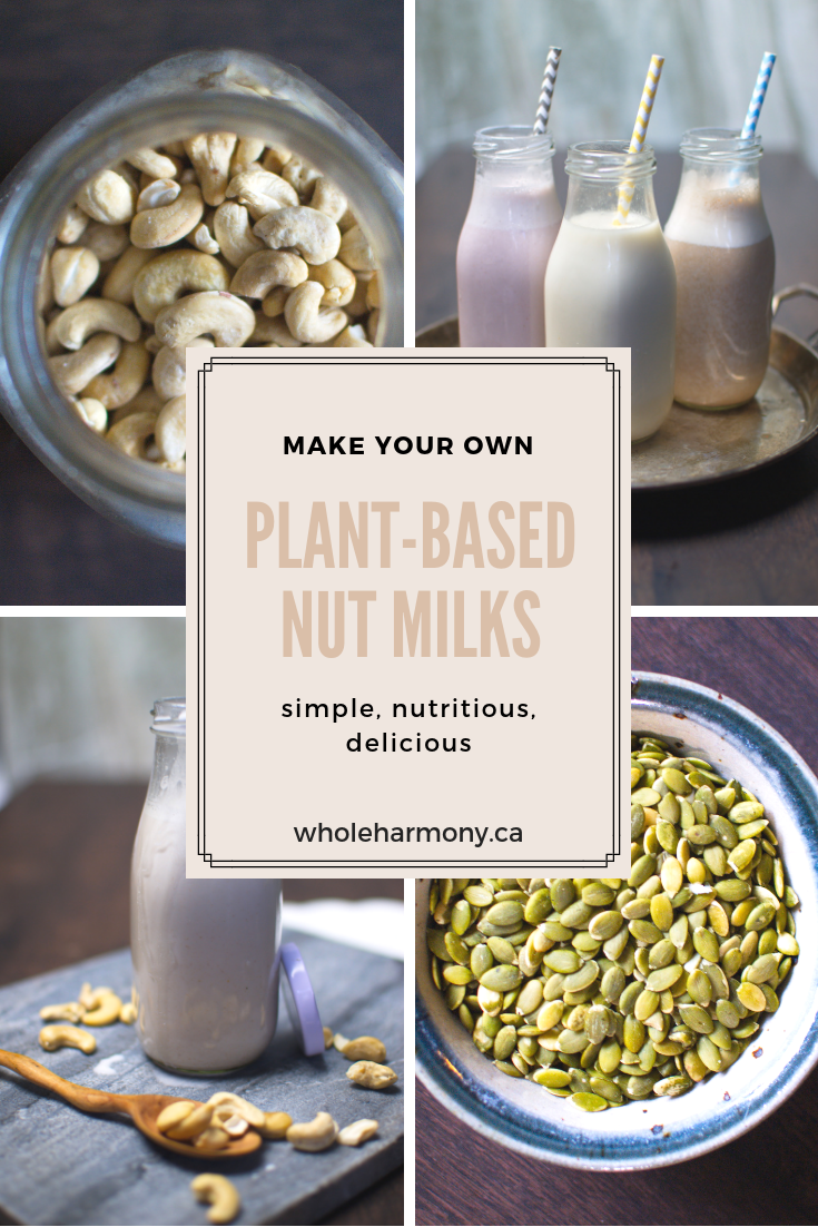 How To Make Your Own Not-Milk