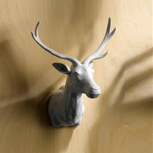 Ceramic Deer Head From Burke Decor Deer Head Decore