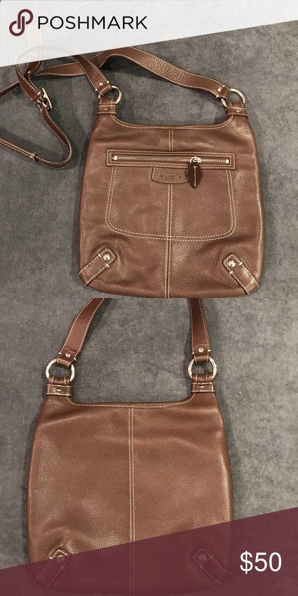 b804b63e64 Coach purse Beautiful brown leather Coach purse