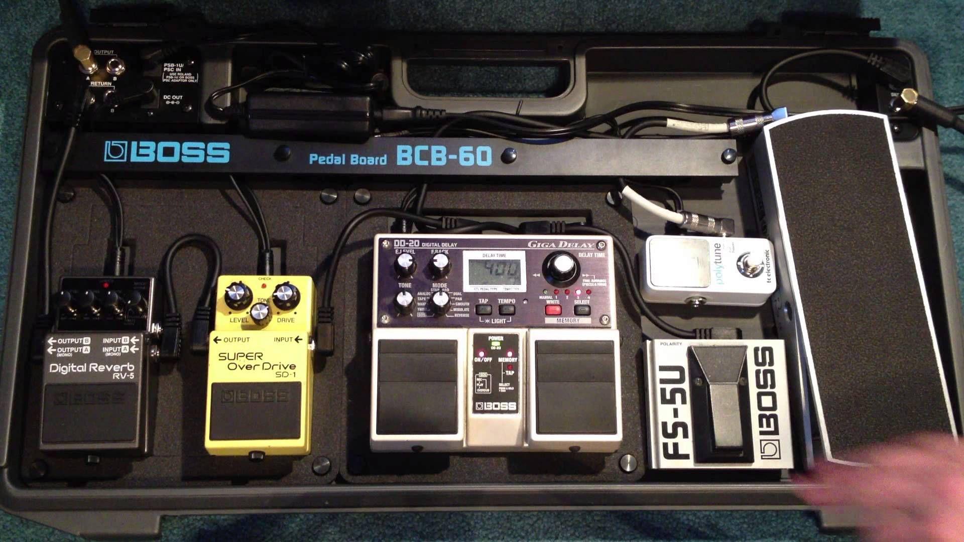 pedalboard essentials music pedalboard guitar pedals boss pedals. Black Bedroom Furniture Sets. Home Design Ideas