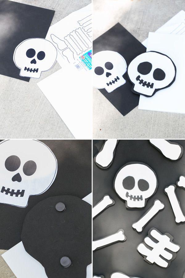 Kids Halloween Party Diy Magnet Board Halloween Party