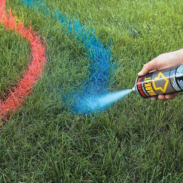 Landscape Spray #landscape #landscaping #lot #spray #paint #plot #ground #design #garden #backyard