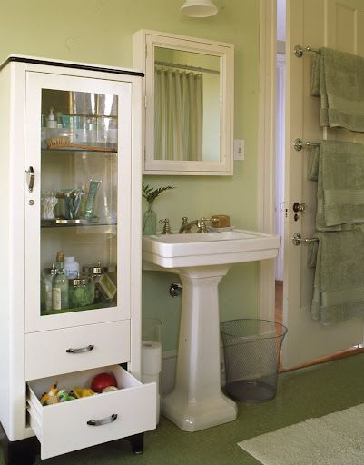 Diy Home Projects Vintage Medicine Cabinets Bathroom Storage
