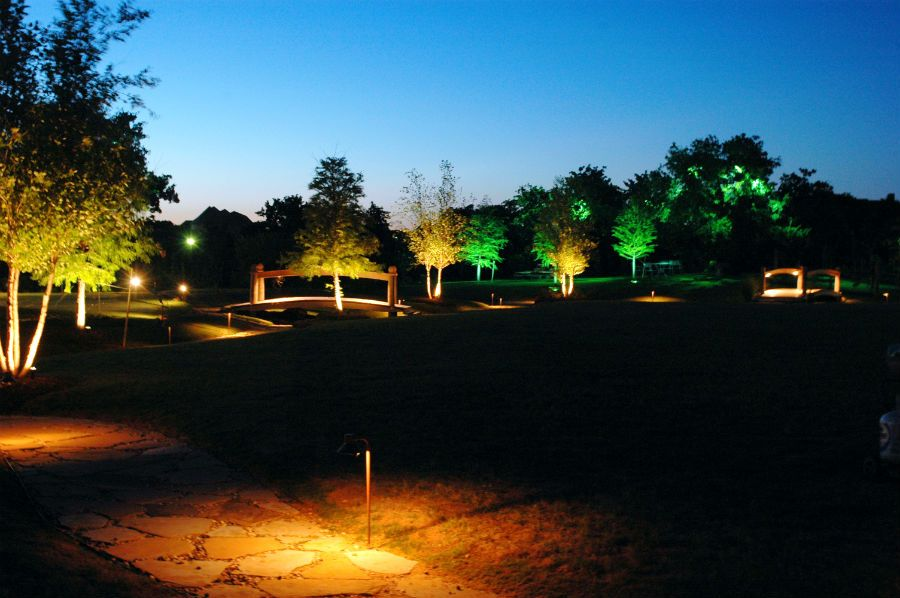 Pin By Dallas Landscape Lighting On Pathway Driveway