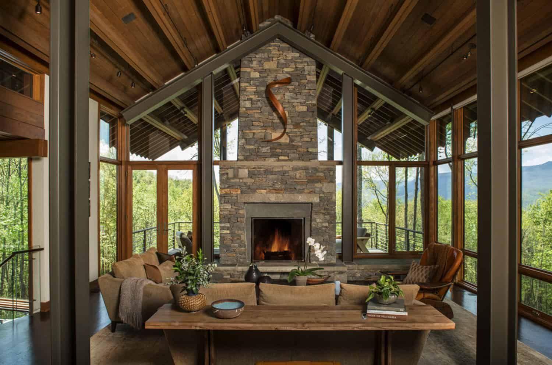 North Carolina mountain home feels like living above the ...