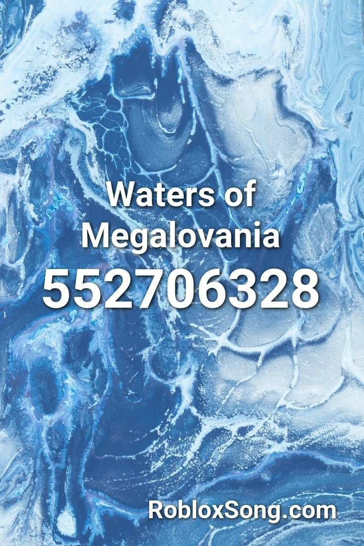 Waters Of Megalovania Roblox Id Roblox Music Codes In 2020