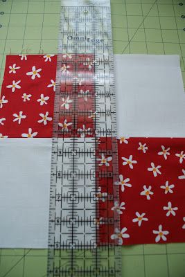 This month's block for the Block Lotto is a disappearing 4-Patch ... : quilting and sewing blogs - Adamdwight.com