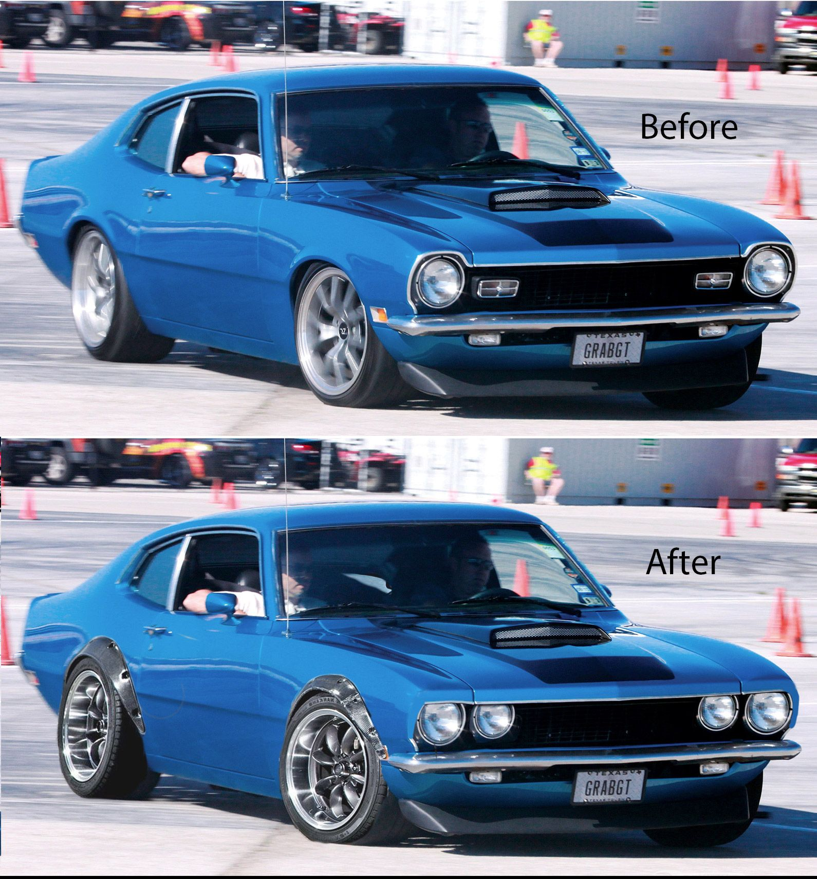 Photoshop Prototype Of A Build I Will Make Ford Maverick