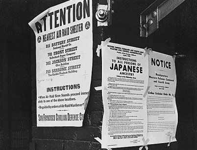 the U.S. deployment of internment camps and the legislation that makes their existence possible reached new heights following the U.S. entrance into the Second World War in 1942. An executive order paved the way for the internment of at least 11,000 German Americans and about 250 Italian Americans. These numbers pale in comparison to the approximately 120,000 persons with Japanese ancestry from the U.S. West Coast.