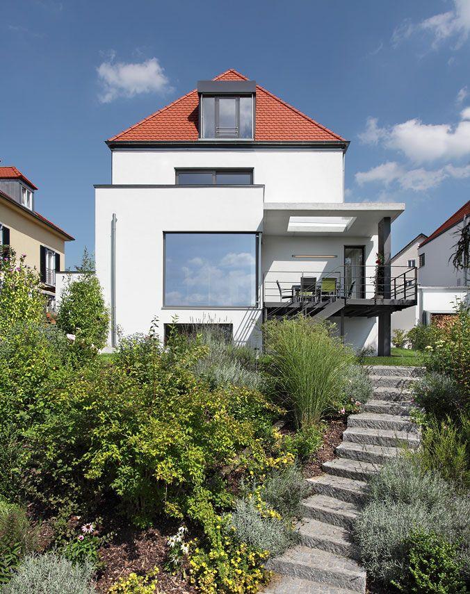 Deckenfenster in terrassenbedeckung berschneider - Architekten neumarkt ...