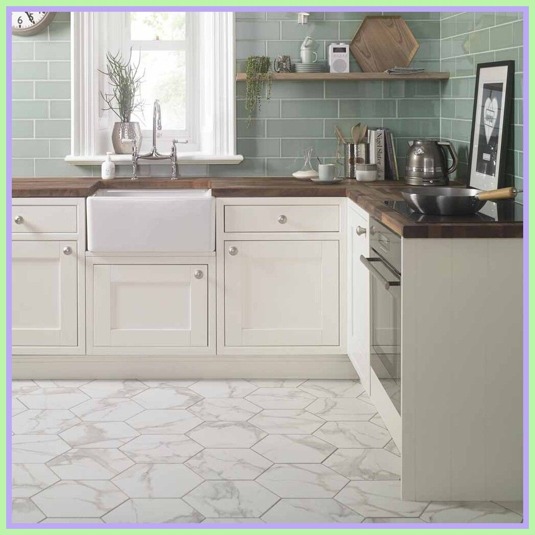 84 Reference Of Floor Tile Large Hexagon In 2020 White Kitchen Floor White Hexagon Tiles Hexagon Tile Kitchen Floor
