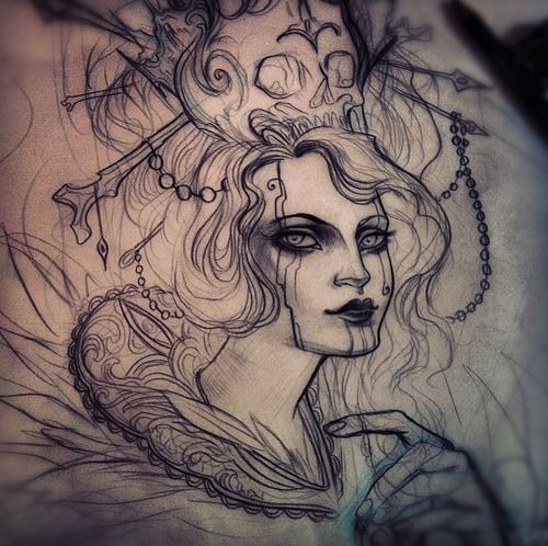 Nomi Chi Tattoo Google Search Tattoos Pinterest Tattoo - Beautiful sketch tattoos by nomi chi