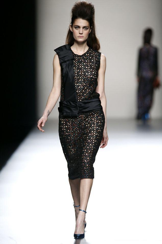 Miguel palacio Fashion Week Madrid. Otoño-Invierno 2012/2013.