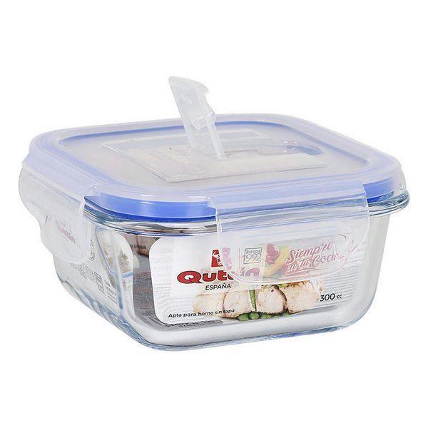 Hermetic Lunch Box Quttin Squared - 550 cc - 14 x 14 x 6,5 cm