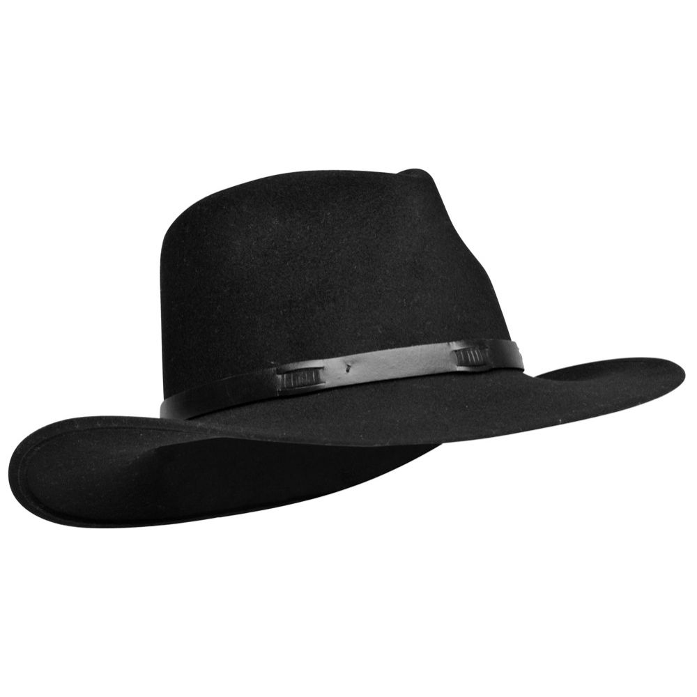c7874e01ab2ed SOMBRERO CUADRA ~ Sombrero con detalle de tira de piel ...