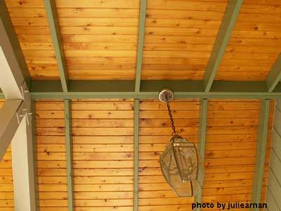 Porch Ceiling Porch Ceiling Vinyl Beadboard Screened