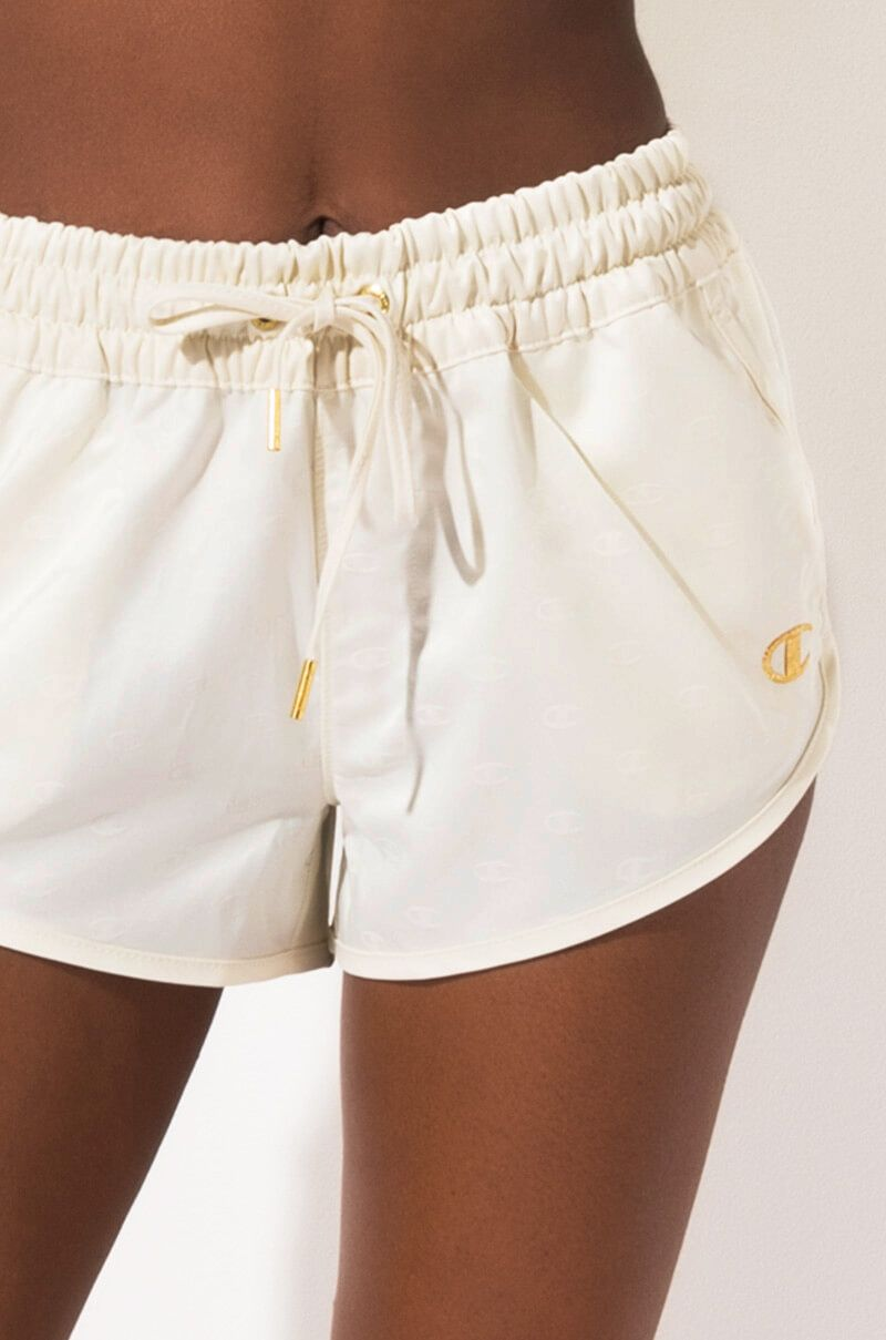 Shorts Stretch Lycra Lace Up Side Cotton Jean Hot Pants In Black//white NOW £7.99