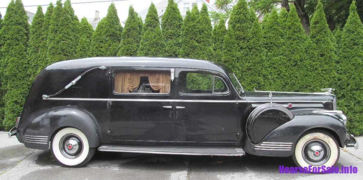 1942 Packard Henney Hearse | Professional Cars | Classic