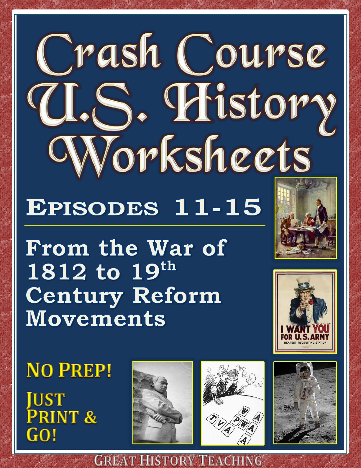 Make American History Fun And Engaging With These Crash