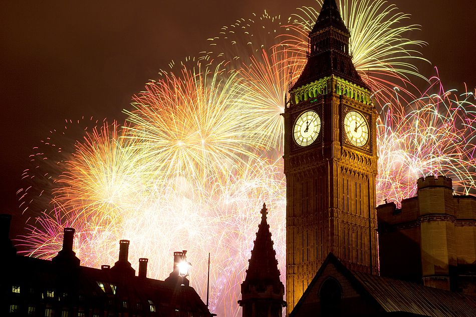 Photo Of The Day New Year Fireworks Fireworks Photo