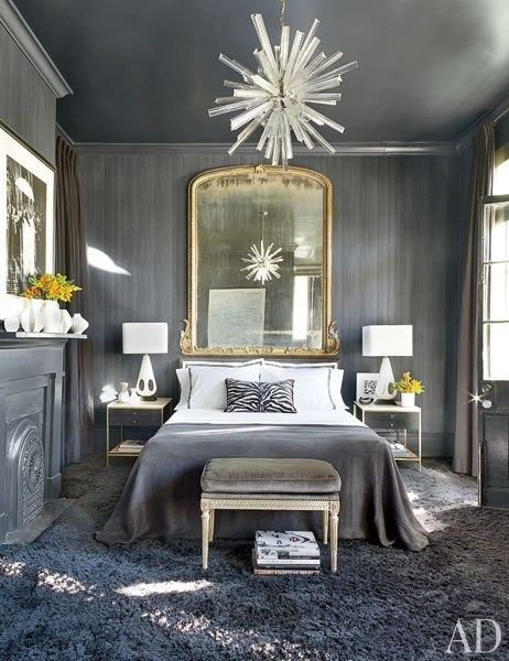 Grey Gold A Surprisingly Soothing And Striking Combination Home Decor Trends Bedroom Interior Home Bedroom