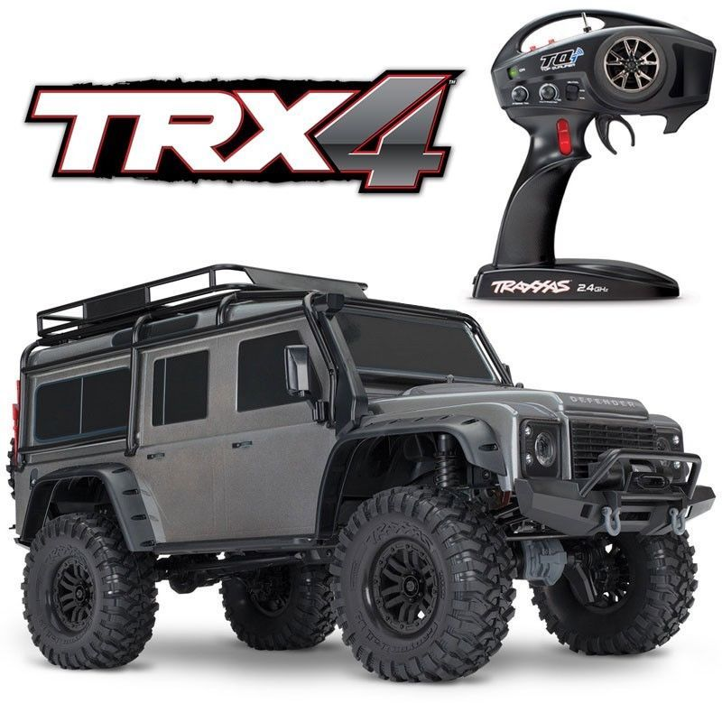 New Traxxas Trx 4 4x4 Rock Crawler Scaler Truck Land Rover